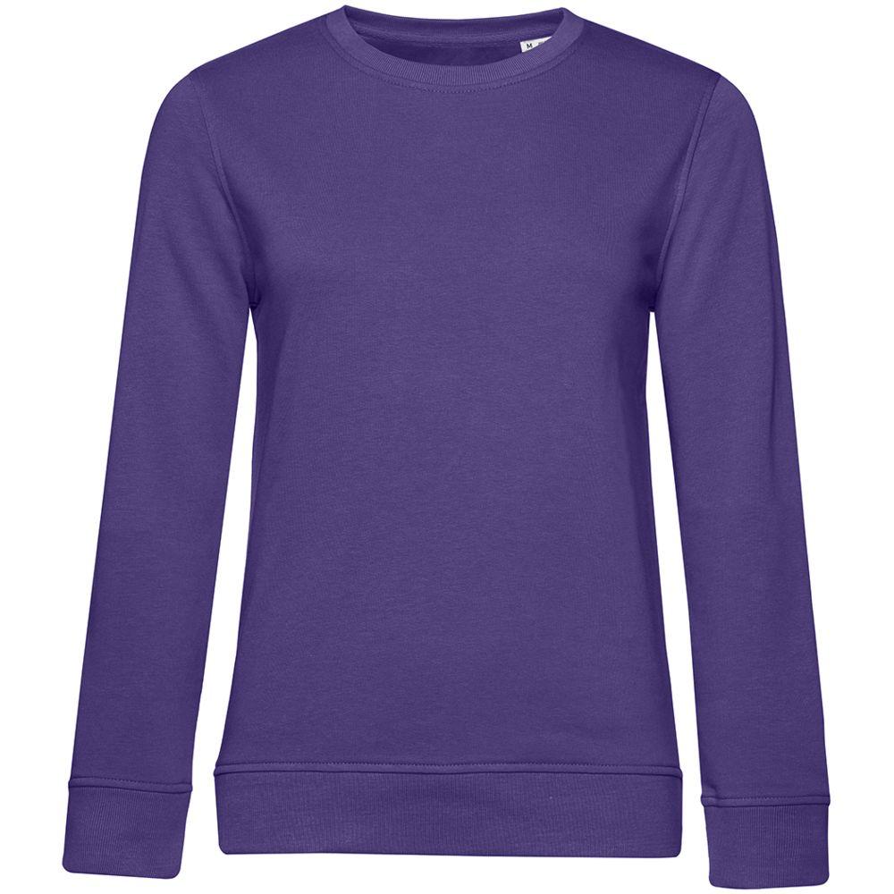 Свитшот женский BNC Organic, фиолетовый