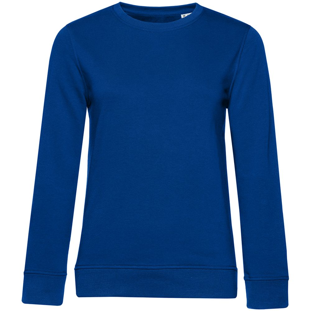 Свитшот женский BNC Organic, ярко-синий