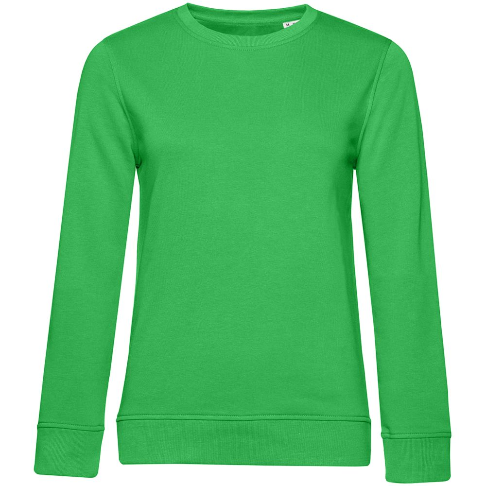 Свитшот женский BNC Organic, зеленый
