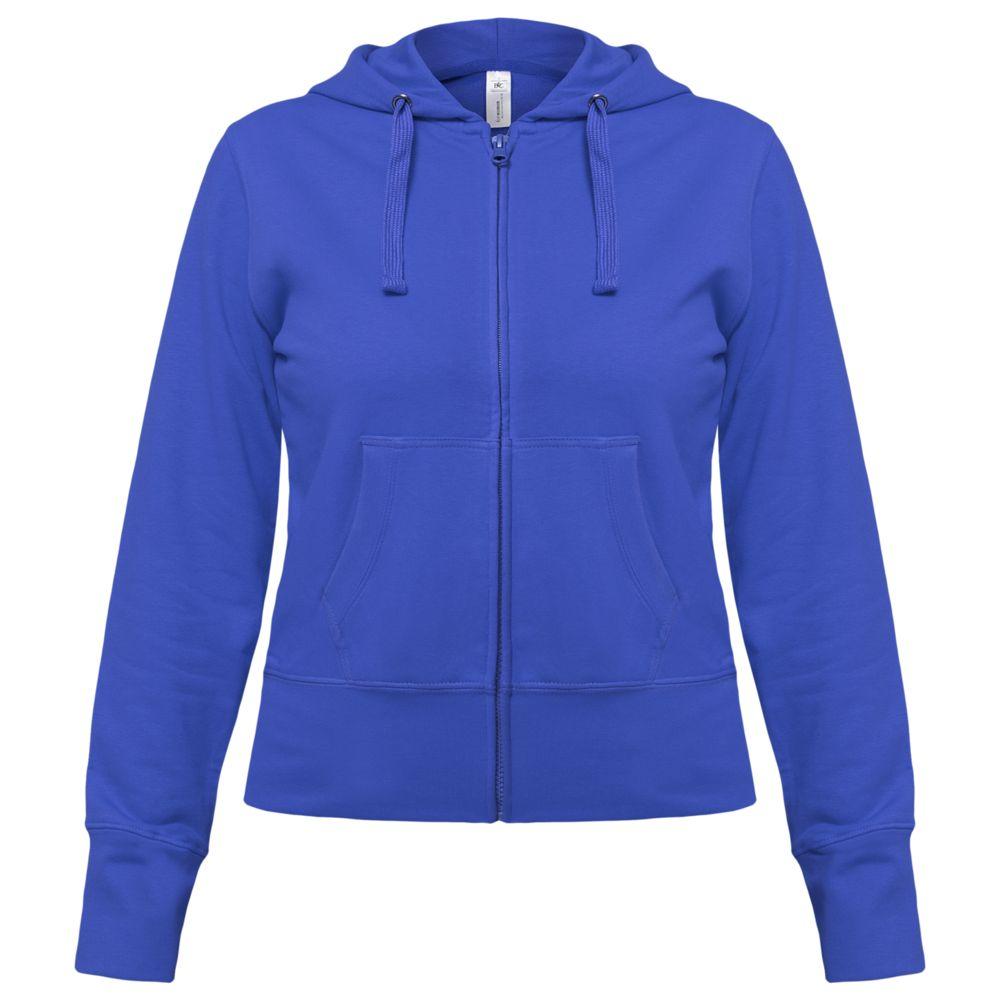 Толстовка женская Hooded Full Zip ярко-синяя