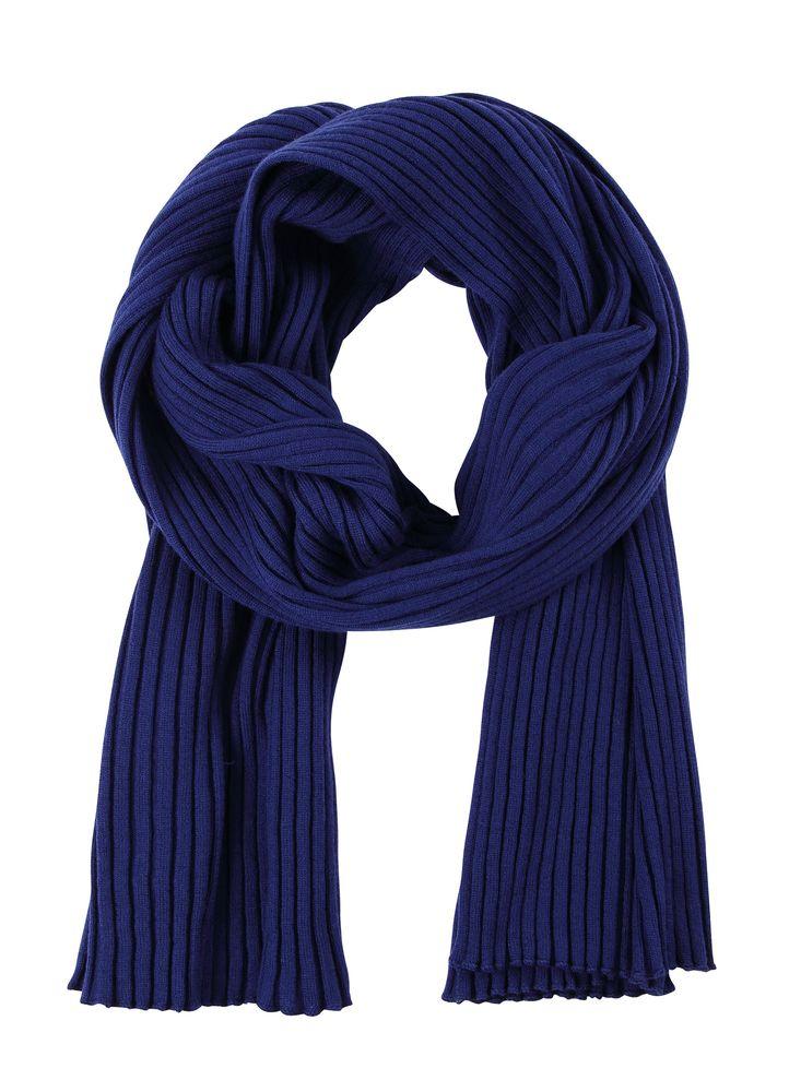 Шарф Mono, темно-синий