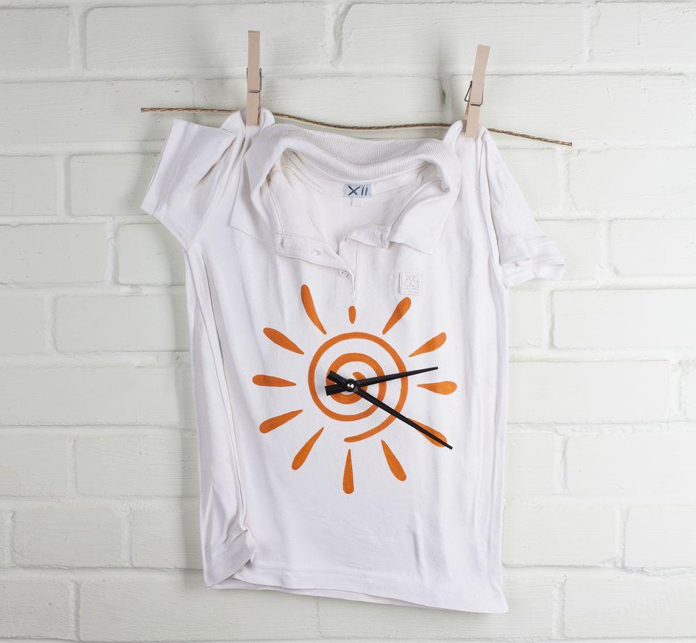 Часы «Рубашка», белые