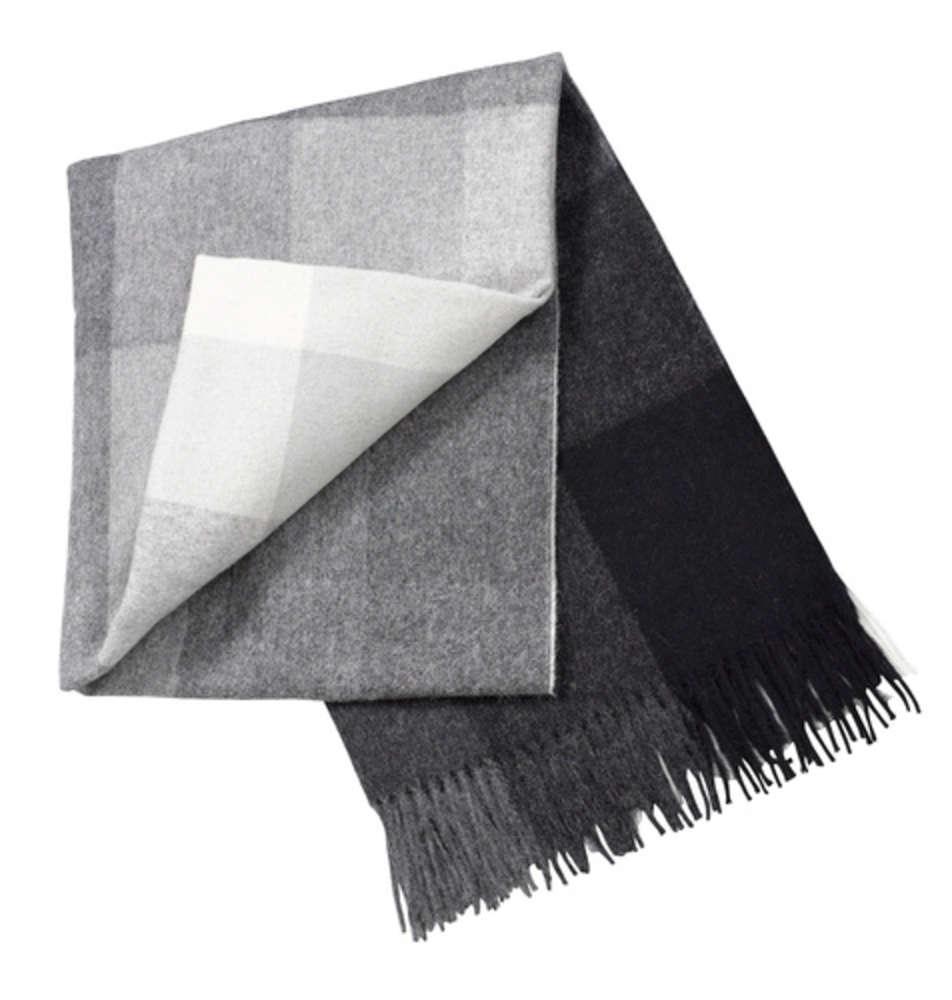 Плед «Инки», серый