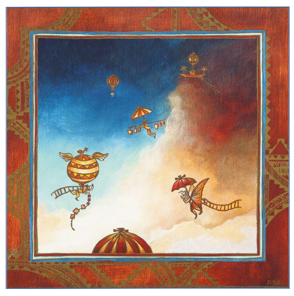 Постер «Сказочное небо», большой